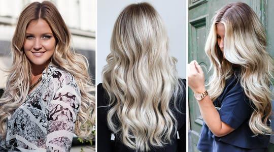 färga ombre på ljust hår