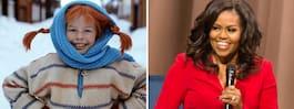 Michelle Obamas förebild: Pippi Långstrump
