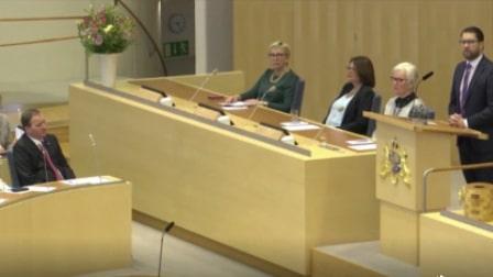 """Jimmie Åkesson (SD): """"Den regeringen har misslyckats med precis allting"""""""