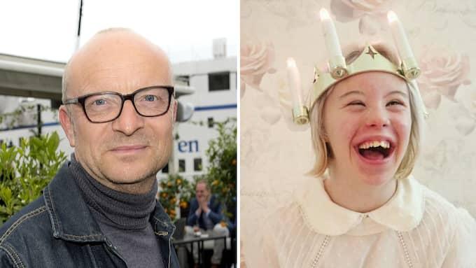 """""""Noelle är min idol"""", säger Jonas Gardell om årets succélucia. Foto: All Over Press/Privat"""