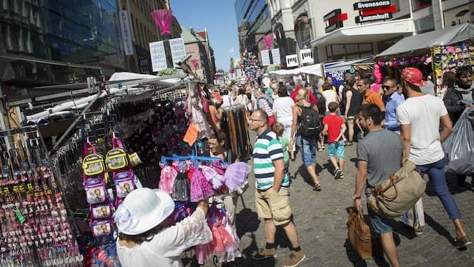 Malmöfestivalen är dyr – men välbesökt. Foto: CHRISTER WAHLGREN / EXPRESSEN/KVÄLLSPOSTEN