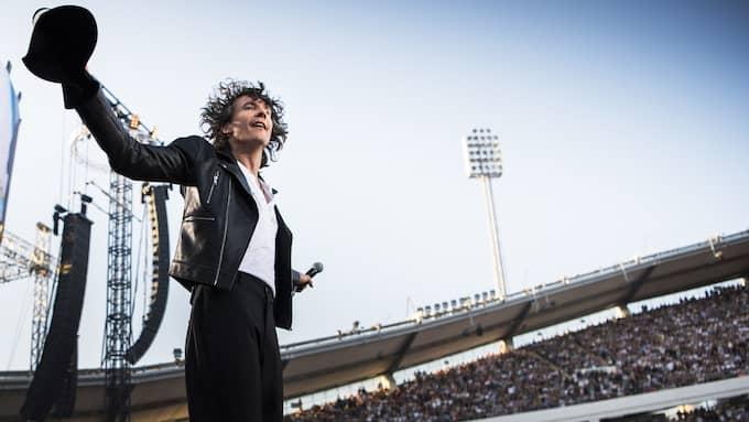 Göteborgs store son som i somras slog alla tiders publikrekord på Ullevi. Foto: ROBIN ARON