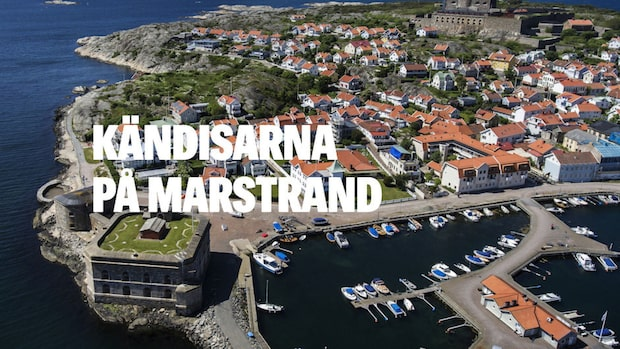 Kändisarna på Marstrand – Västsveriges gräddhylla