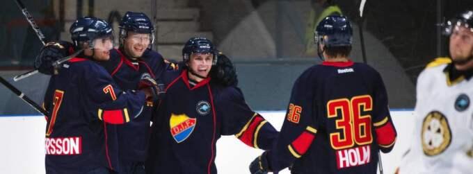 Djurgården - en av klubbarna som vill ha lockoutade NHL-spelare i allsvenskan. Foto: Joel Marklund