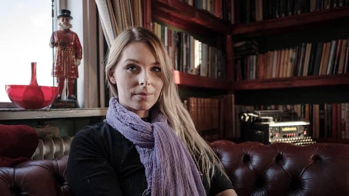 """Tidigare SD-ledamoten Hanna Wigh har fått ta emot hotbrev efter sin medverkan i """"Kalla fakta"""". Foto: HENRIK JANSSON"""