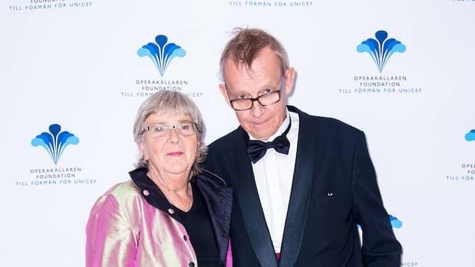 Hans Rosling med hustrun Agneta. Foto: JULIA DANSARIE