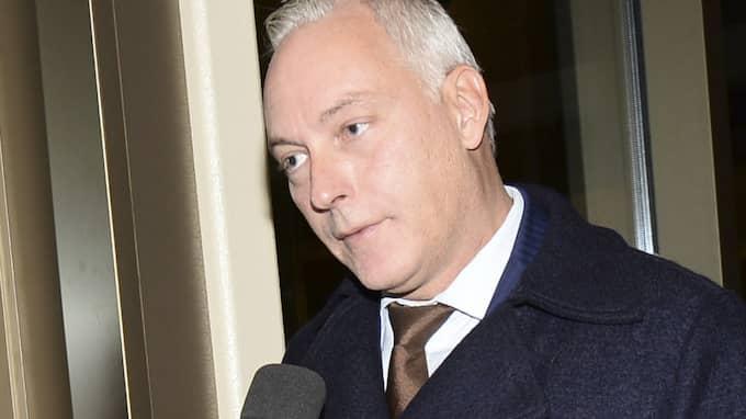 Den misstänkte terroristen ville byta sin advokat, Johan Eriksson. Foto: Fredrik Sandberg/Tt / TT NYHETSBYRÅN