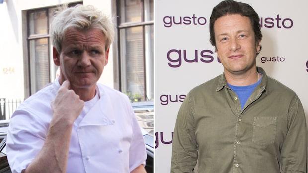 Gordon Ramsay ilska mot Jamie Oliver