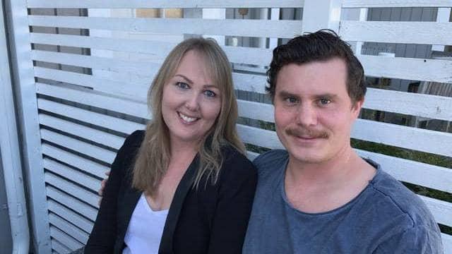 Lisa kan tacka både Gustav och personalen på dotterns skola för sitt liv. Foto: Privat