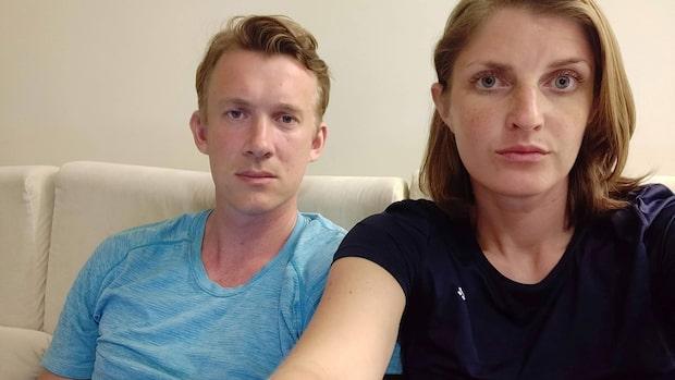 """Patrik och Annas hotell blev bombat i Sri Lanka: """"Vi hade tur"""""""