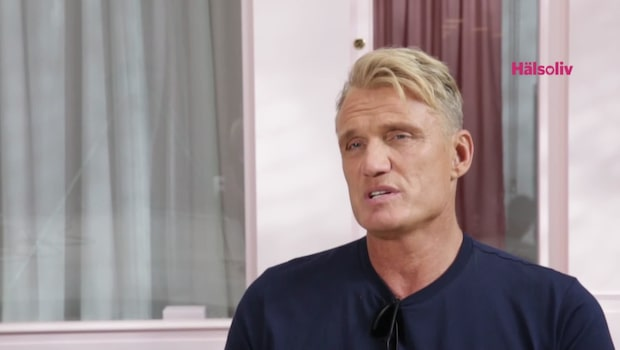 Dolph Lundgren om terapin och kärleken