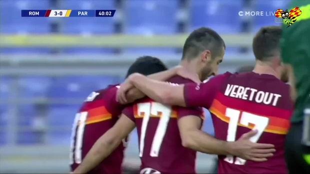 Highlights: Parma stod och tittade på när Roma öste in mål