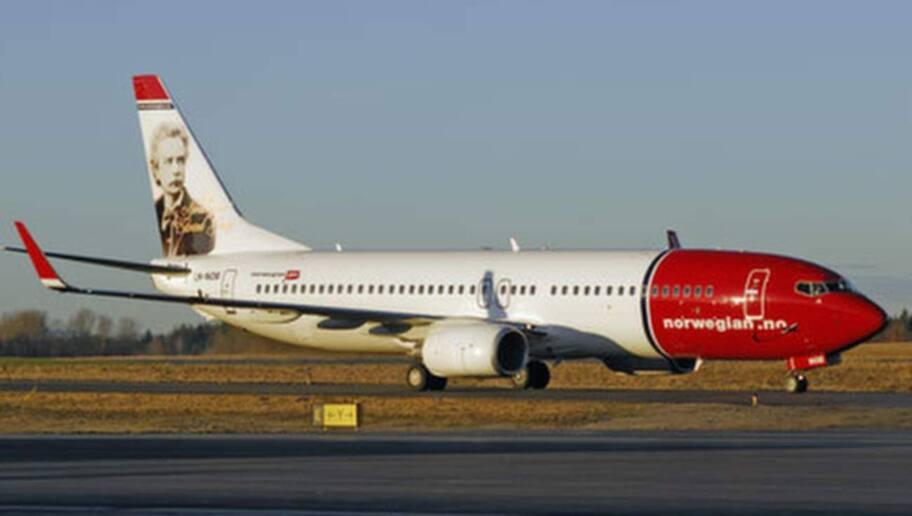 inställda flyg norwegian