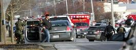 Larm om skottlossning  vid fabrik i Illinois