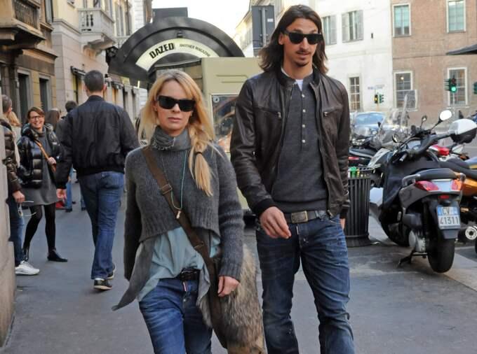 Zlatan Ibrahimovic och Helena Seger lever lyxliv på landet ...
