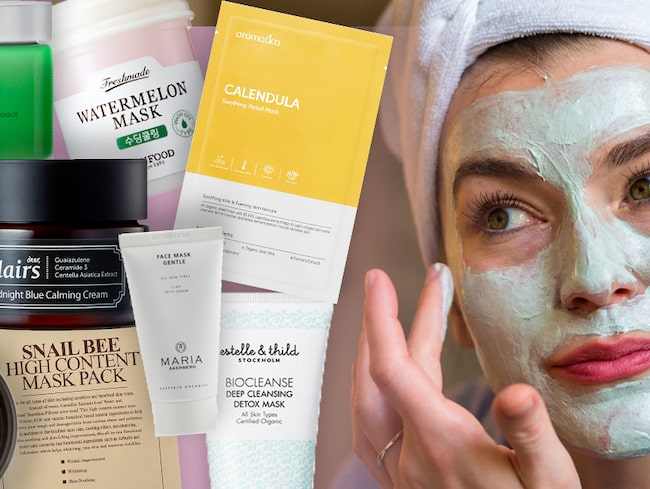 bästa sheet mask
