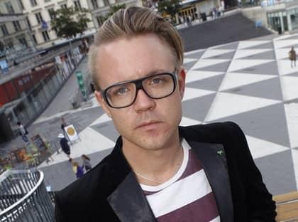 Fredrick Federly har blivit misshandlad utanför sitt hem i Stockholm. Foto: Martina Huber