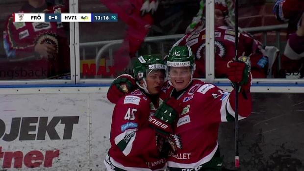 Höjdpunkter: Frölunda-HV71