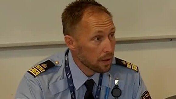 """Polisen: """"I samband med detonationen sprängdes polisens förråd"""""""