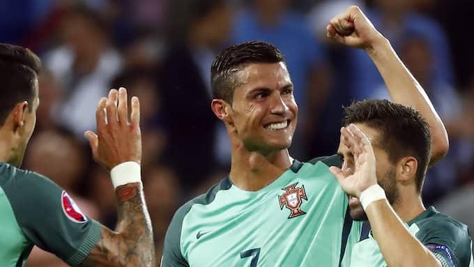 Cristiano Ronaldo. Foto: IAN LANGSDON / EPA / TT