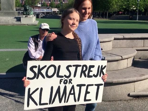 Sista skolstrejken i Sverige – Greta seglar till USA