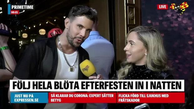 """Robin Bengtsson om flytten med Sigrid Bernson: """"Ouppackade lådor"""""""