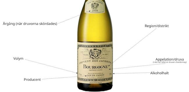 Allt om Vin hjälper till att reda ut begreppen från vinflaskornas etiketter.