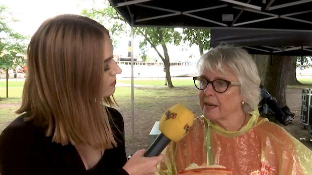 """Inger, 73, om Löfvens tal: """"Bra med fokus på klimatfrågan"""""""