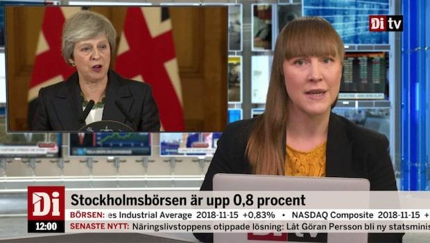 Di Nyheter 12.00 16 november - pundet under press efter uppgifter om misstroendeförklaring