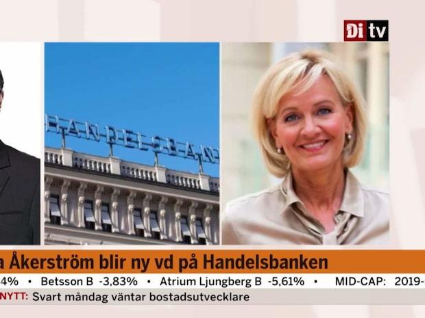 Carina Åkerström blir ny VD på Handelsbanken