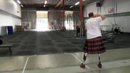 Bägge benen amputerade - tävlar i crossfit