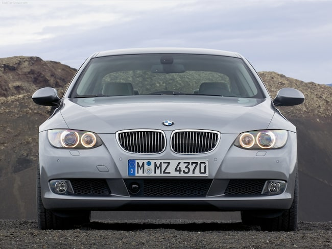 Mannen körde en BMW 3-serie som han utrustat med kamerastörande teknik.