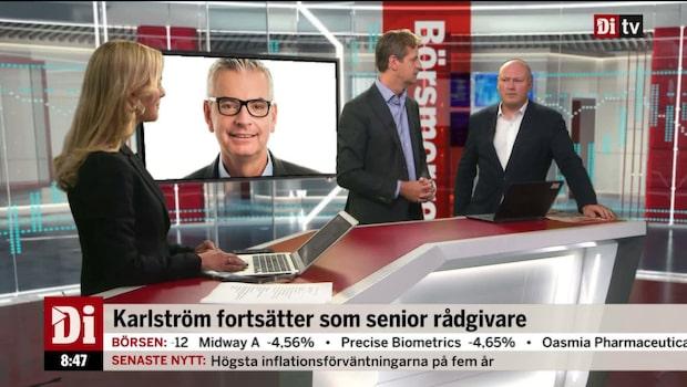 """Skanskas vd lämnar: """"Hade räknat med några år till"""""""