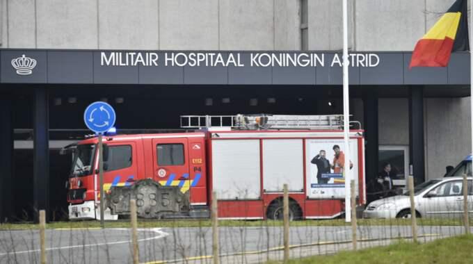 Omkring 300 skadades i attackerna och många av de som sårades svårast fördes hit, till drottning Astrids militärsjukhus. Foto: Christian Örnberg