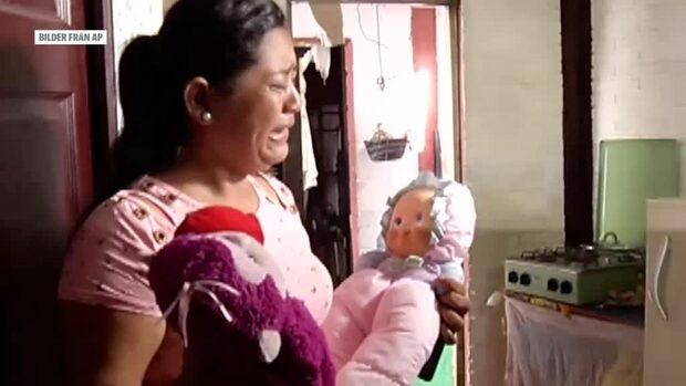 Rosas son och barnbarn dog – drunknade på flykt