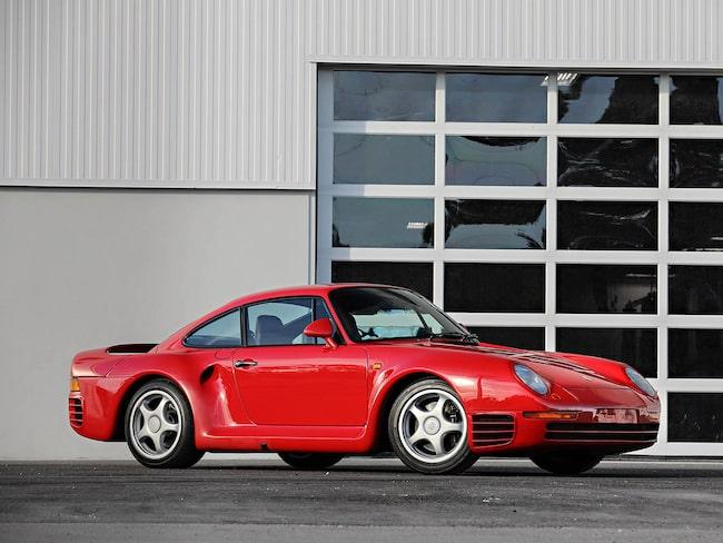 Porsche 959 Komfort. Den allra dyraste bilen i samlingen.