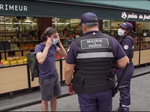 Utegångsförbud mellan 21 och 06 i Frankrike