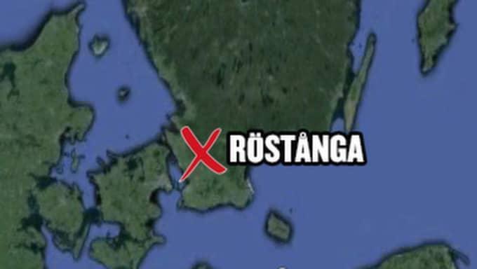 Flyktingboendet ligger utanför Röstånga.