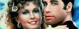"""Hemliga romansen under inspelningen av """"Grease"""""""