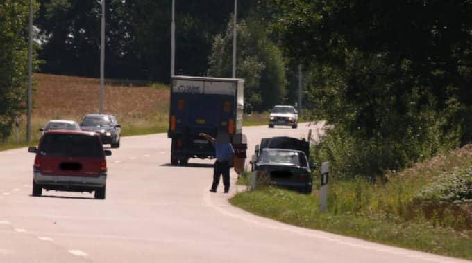 Den Vätsvenska polisen har haft problem med vägpiraterna en längre tid. Foto: Thomas Friström