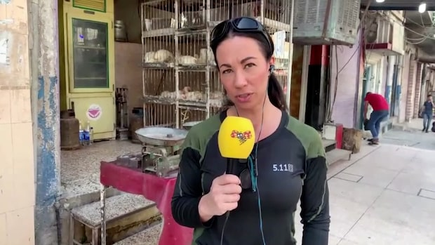 """Magda Gad i krigets Syrien: """"Man är livrädda för Turkiet"""""""