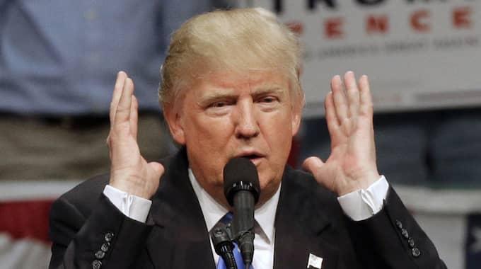 Donald Trump. Foto: Chuck Burton / AP TT NYHETSBYRÅN