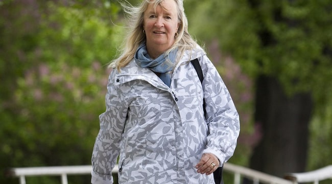 """RÖR PÅ SIG. 58-åriga Lene Martin, 58, är noga med att röra på sig. """"Jag har inte tänkt så mycket på att motion förebygger alzheimer, men däremot på sjukdomar som benskörhet, depression och diabetes"""", säger hon."""