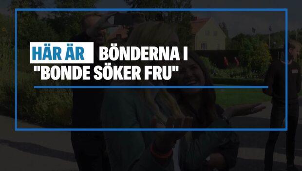 """De är med i """"Bonde söker fru"""" 2018"""