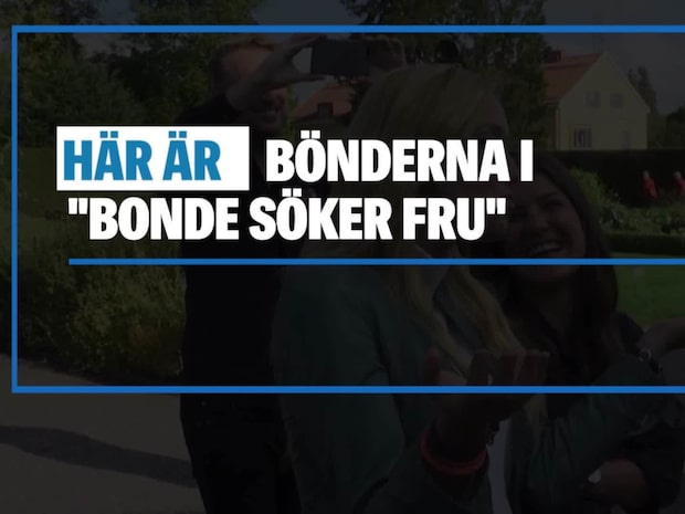 De var med i Bonde söker fru 2018