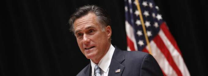 Mitt Romney. Foto: Jim Young