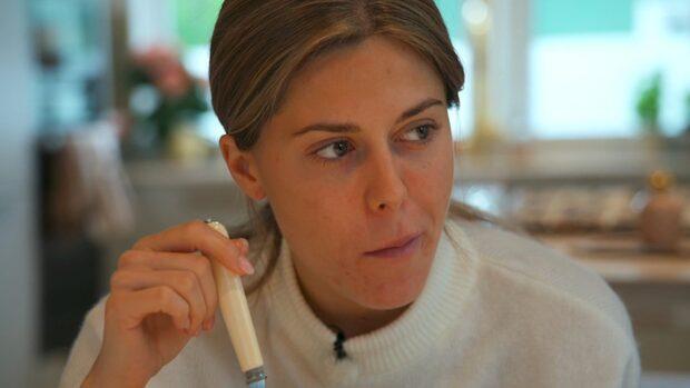 Bianca Ingrossos beslut efter gravidbeskedet – klippet har inte visats i tv