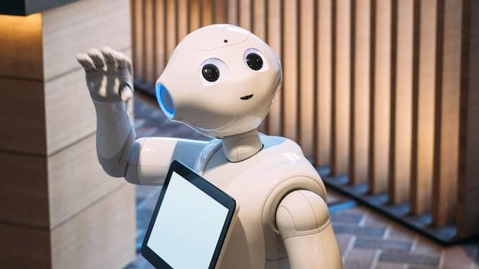 Roboten på bilden har ingenting med artikeln att göra. Foto: Shutterstock