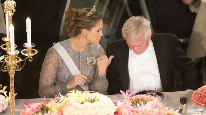 Prinsessan Madeleine vid Nobelfesten 2015. Foto: David Sica / STELLA PICTURES