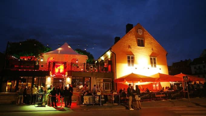 Här på Hamnplan 5 planerar Sverigedemokraterna att hålla presskonferenser och öppna nattklubb under Almedalsveckan. Foto: AXEL ÖBERG